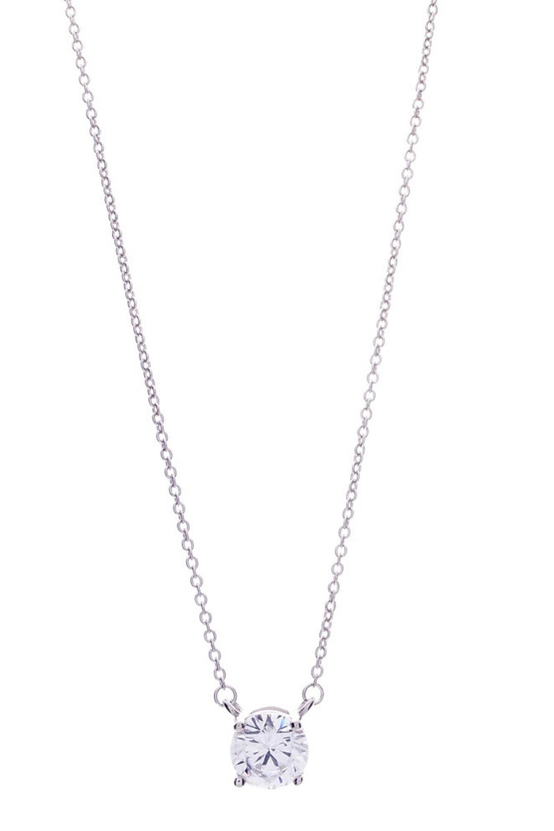 Victoria Lynn CZ Single Necklace