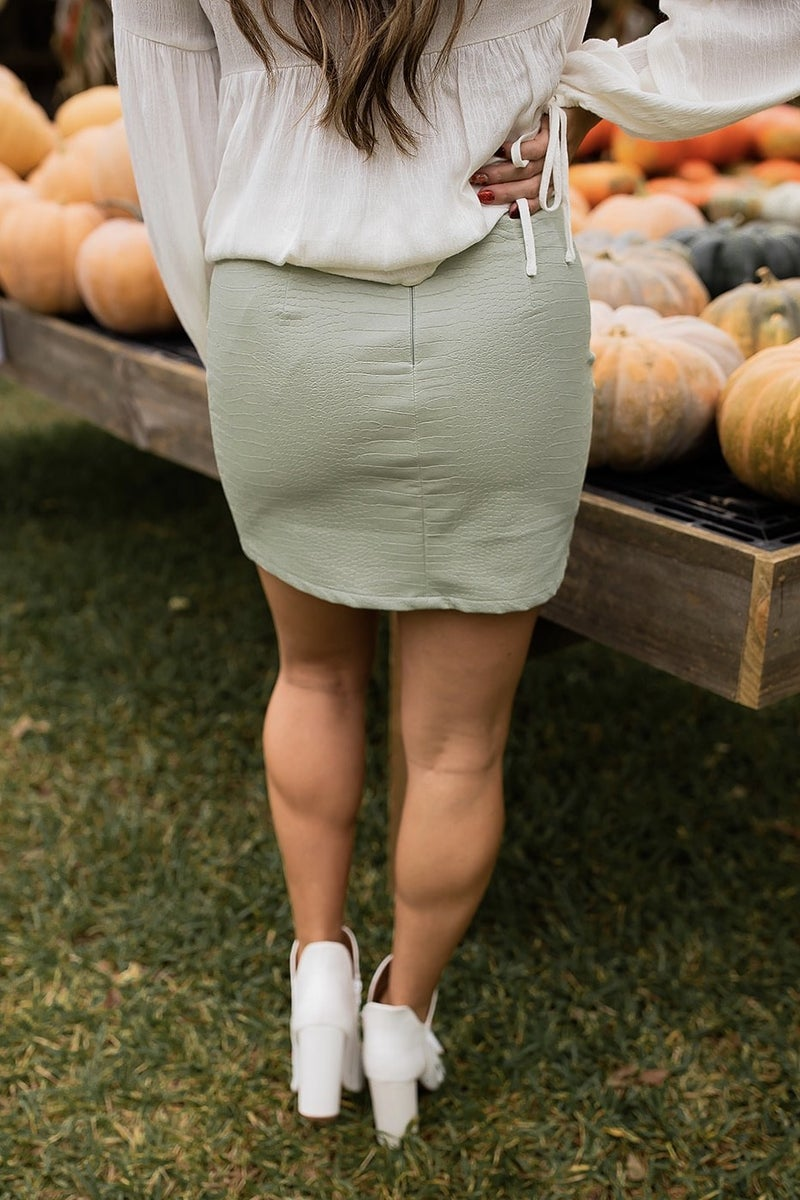 Let's Grab Brunch Skirt