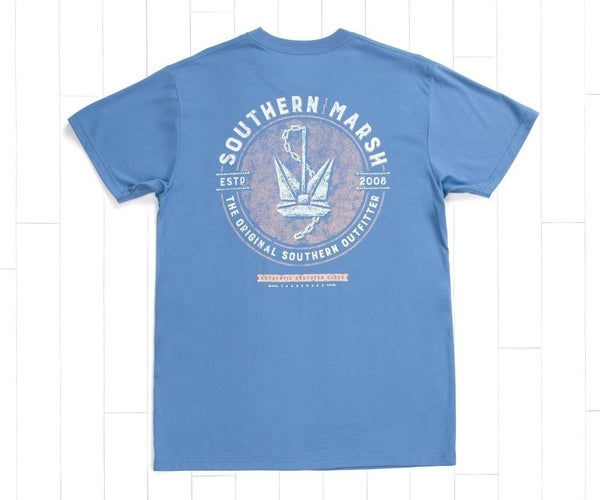 Southern Marsh Branding Tee- Anchor