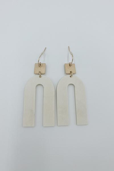 Eternal Happiness Earrings-White