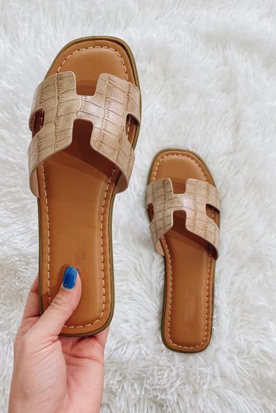Summer Classic Sandals- Nude