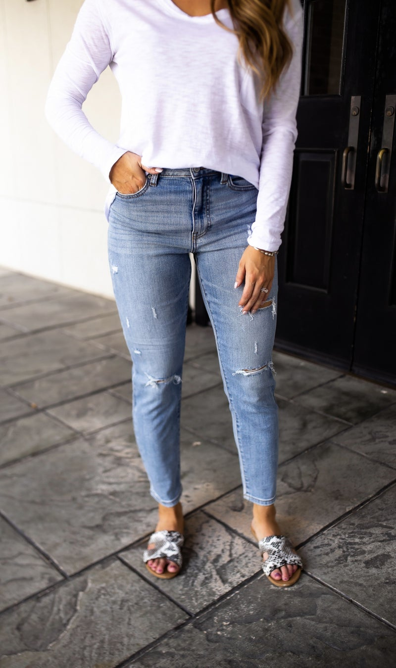 How I Love You Jeans *Final Sale*