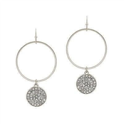 Be My Reason Earrings-Silver