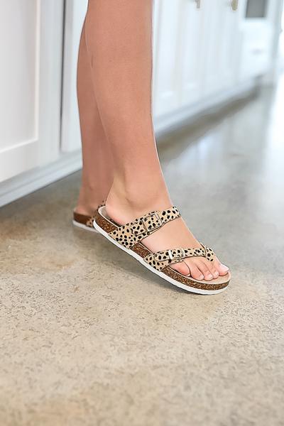 About That Time Sandal- Cheetah