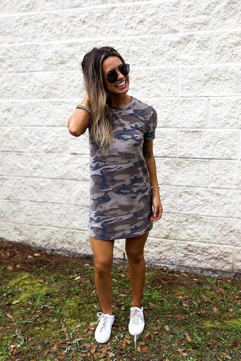 Camo Sweetheart Dress