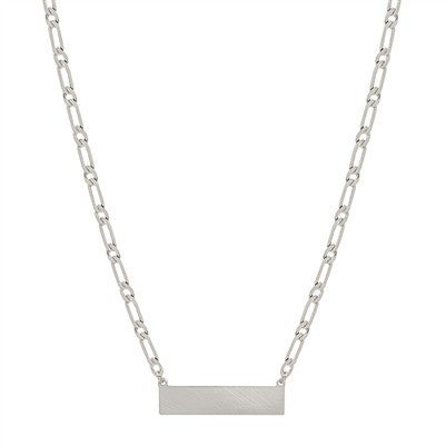 Weekend Made Necklace-Silver