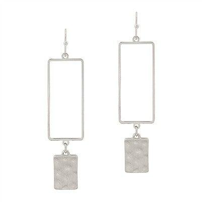 Dearest Heart Earrings-Silver