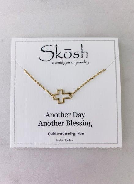 Open Cross Skosh Necklace