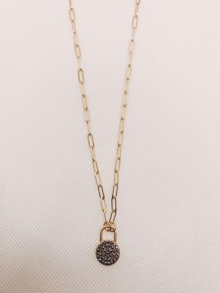 Druzy Life Necklace