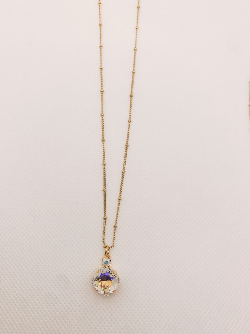 Victoria Lynn 12mm Drop Necklace