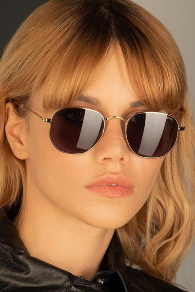 FREYRS-Alex Sunglasses-Gray/Gold