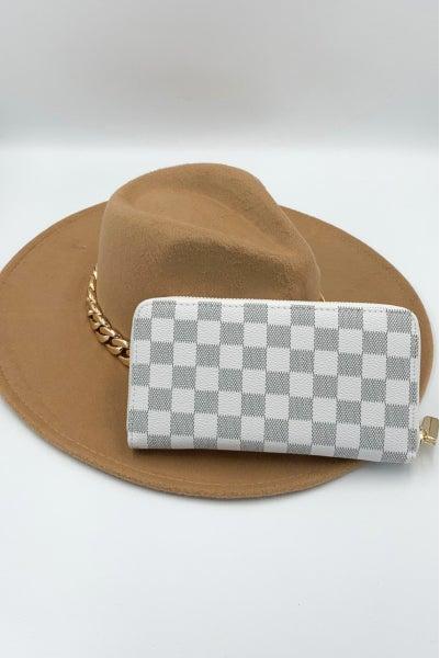 Confident Babes Wallet - White