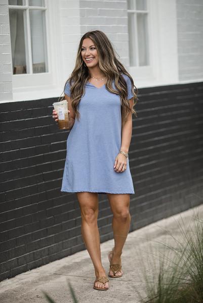 Summer Wonderland Dress - Blue