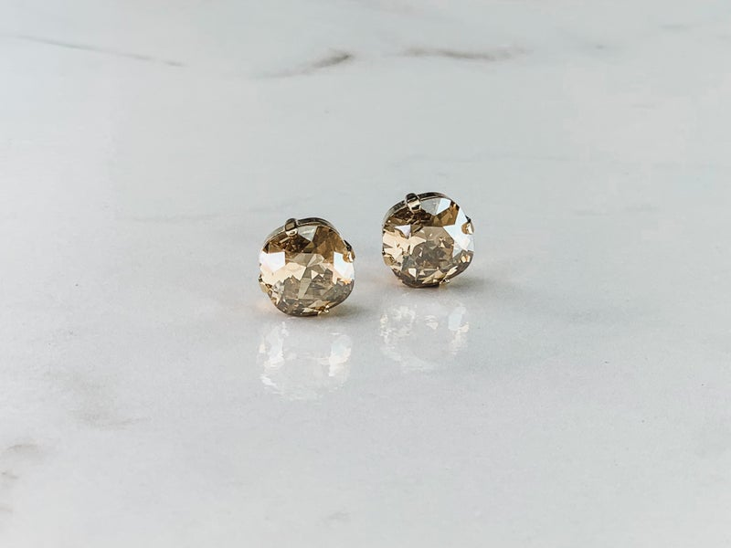 12MM Victoria Lynn Stud Earrings
