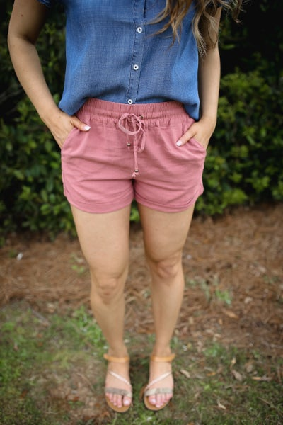 Laid Back Linen Shorts *Final Sale*