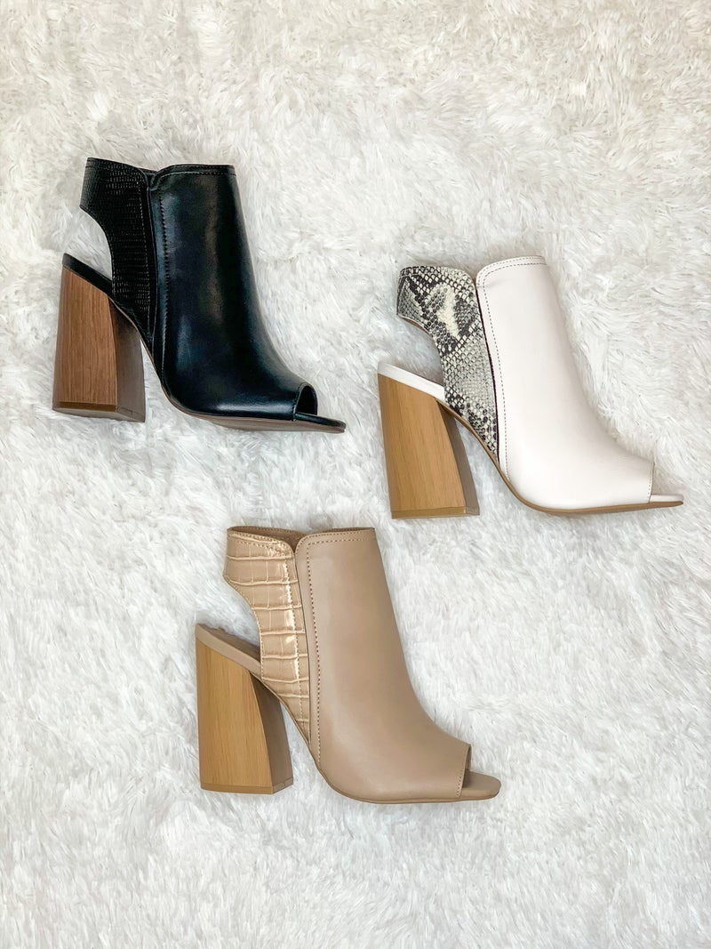 Living For Fall Booties