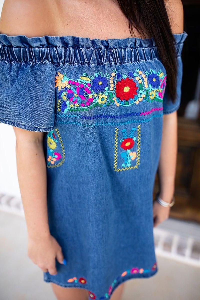 Waterfront Mimosa Dress *Final Sale*