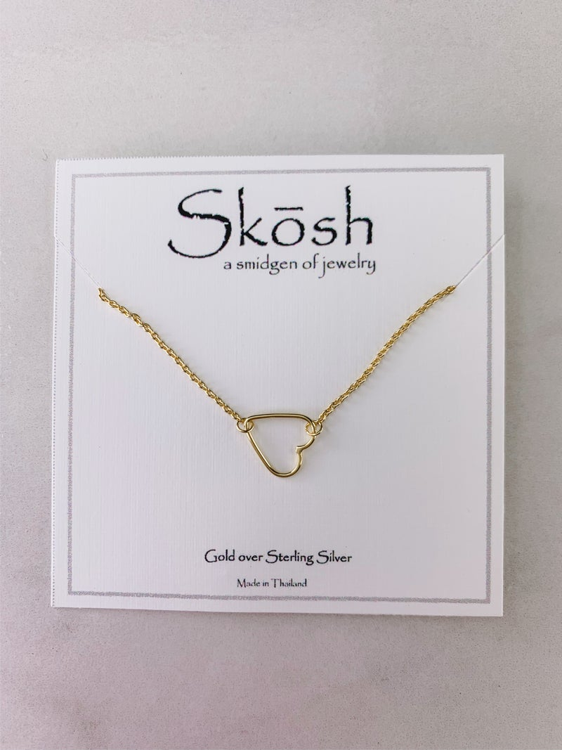 Sweet Heart Skosh Necklace