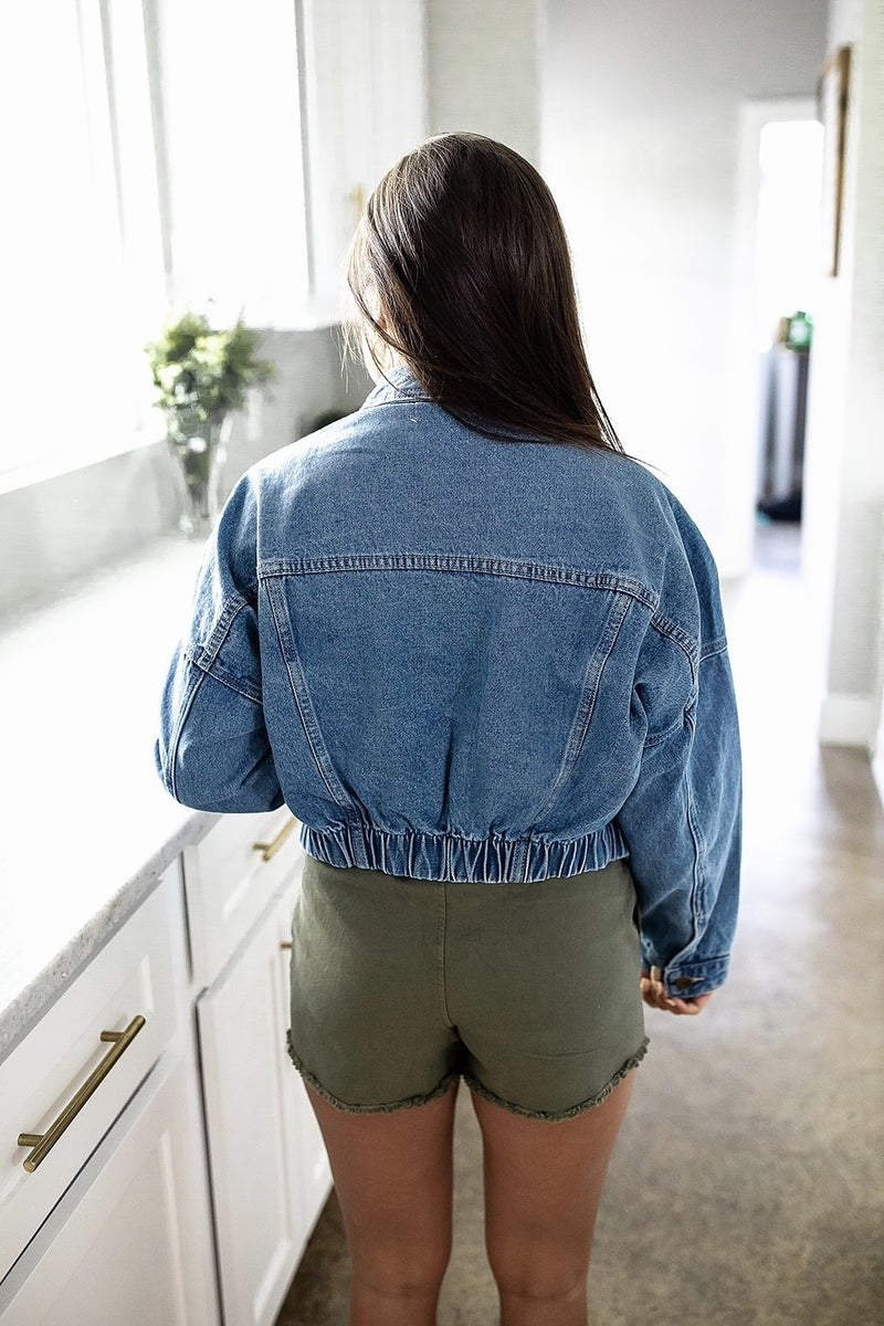 Raw And Right Denim Jacket