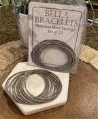 Bella Bracelets-Silver