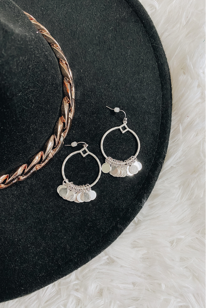 Experience Love Earrings-Silver