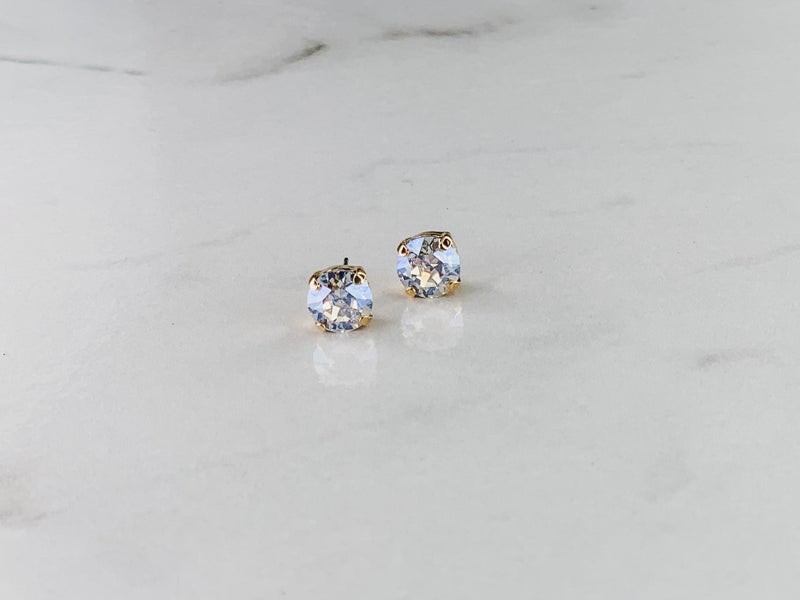 Victoria Lynn 8mm Stud Earrings
