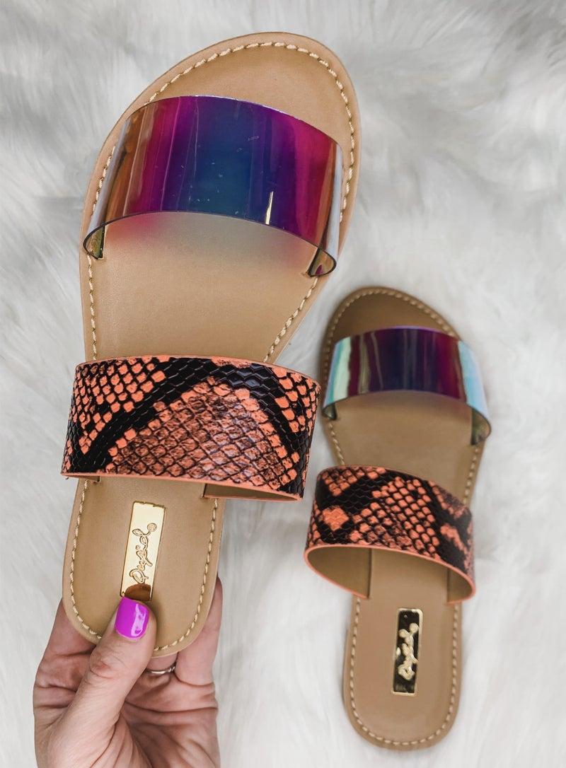 Sunny Snapshot Sandals *Final Sale*