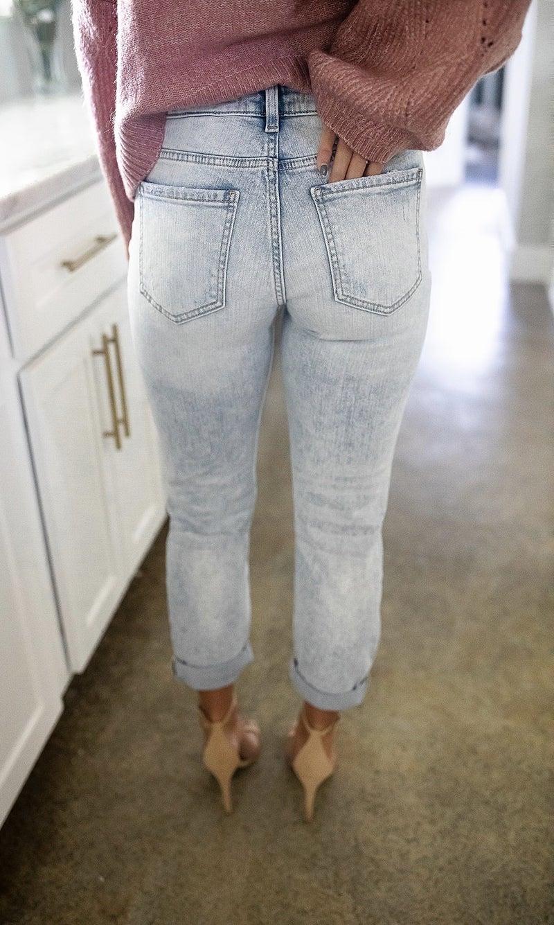 Beach Bum Destroyed Jeans