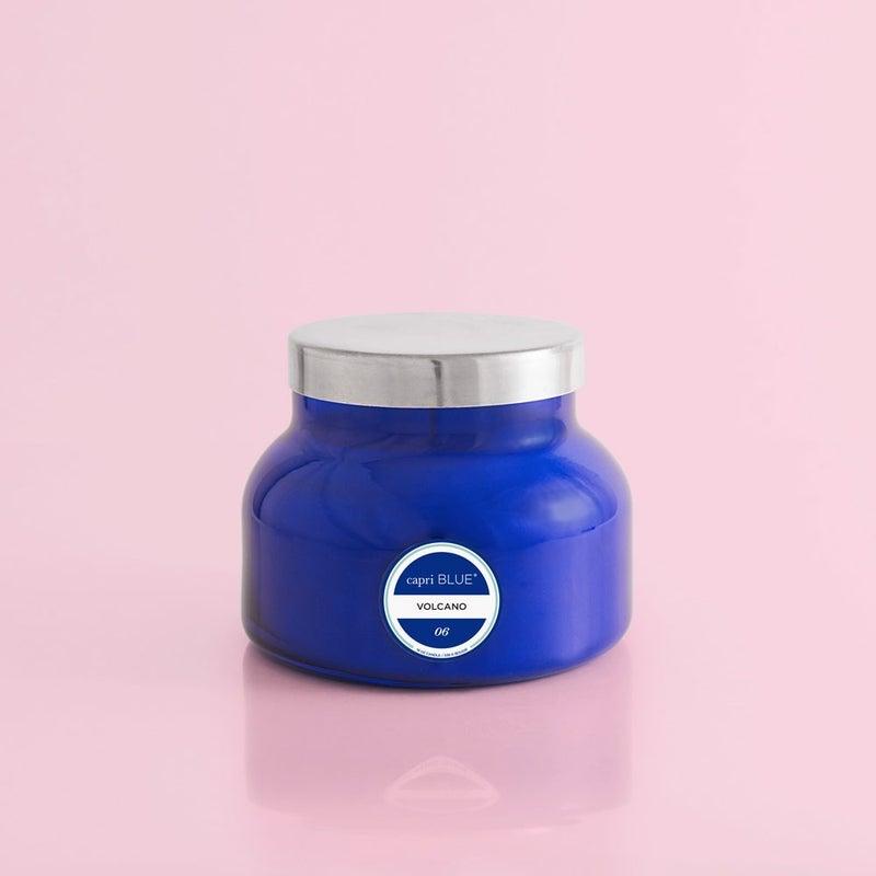 Volcano Signature Jar - Blue