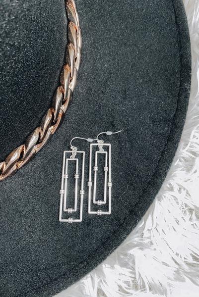 Chic & Trend Earrings-Silver