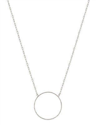 Bubbly Love Necklace-Silver