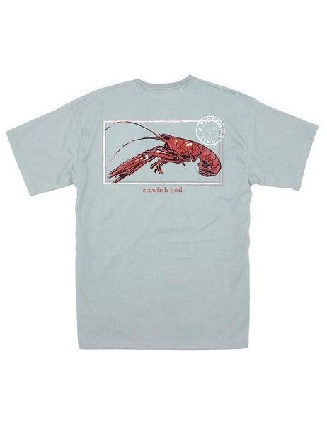 Crawfish Season SS - Chrome Grey - Properly Tied