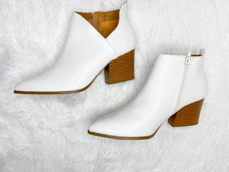 Make A Statement Booties