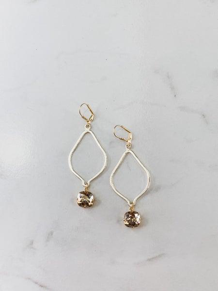 Victoria Lynn Tear Drop Earrings