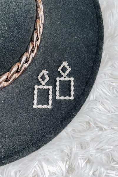 Ready Romance Earrings-Silver