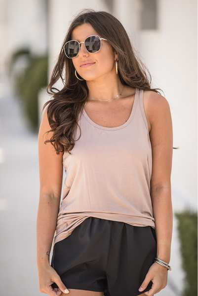 Love and Leisure Tank - Blush