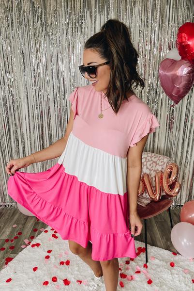 Best Impressions Dress- Pink
