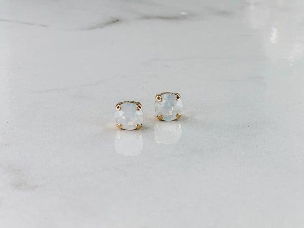 Victoria Lynn 8mm Stud Earrings
