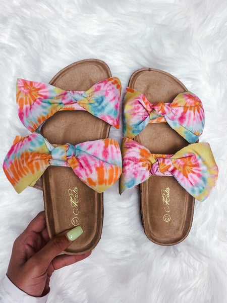Tie-Dye Cutie Sandals *Final Sale*