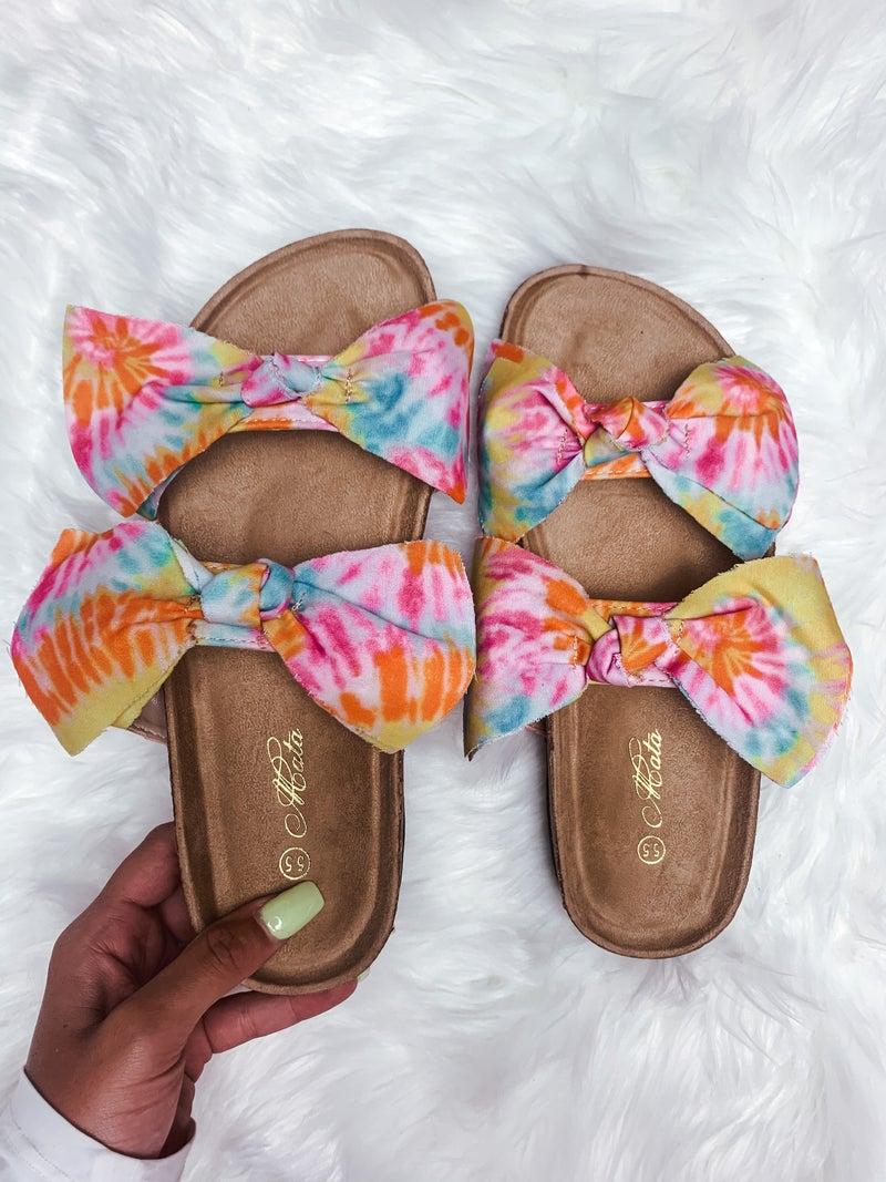 Tie-Dye Cutie Sandals