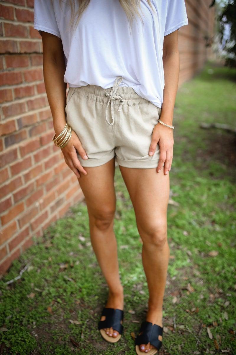 Laid Back Linen Shorts *Final Sale*