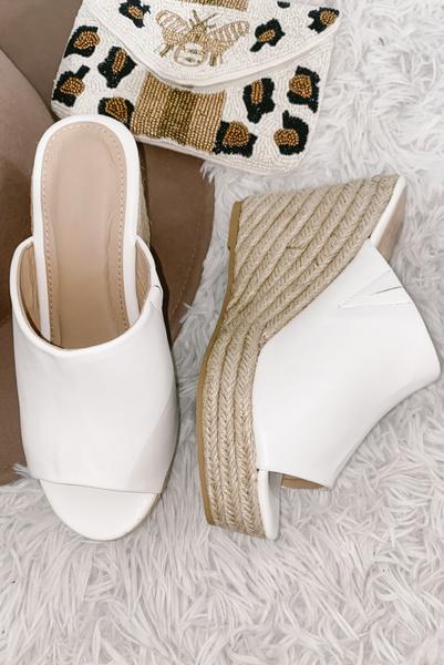 So Essential Heel-White