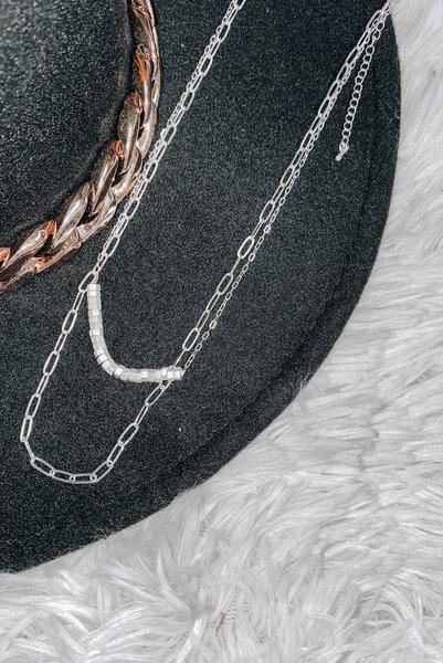 Impress Me Necklace-Silver