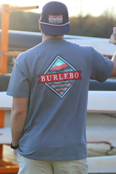Burlebo- Signature Logo- Blue Jean
