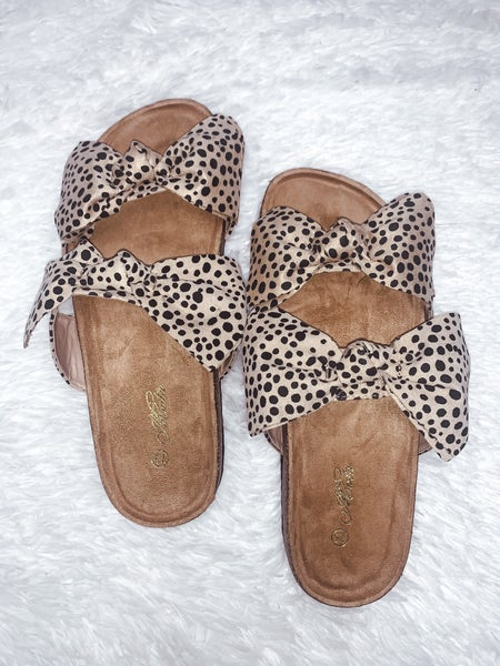 Cheetah Cutie Sandals *Final Sale*