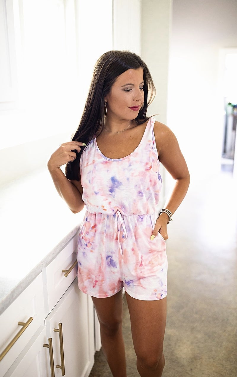 Just Try Again Romper *Final Sale*
