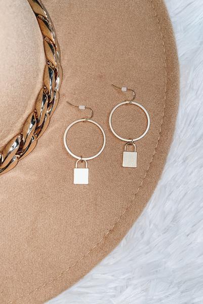 Find A Getaway Earrings-Gold