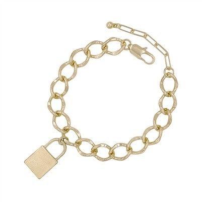 Not To Mention Bracelet-Gold