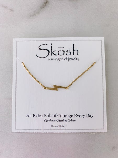Big Lightening Skosh Necklace