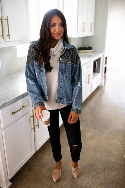 Rebellious Denim Jacket